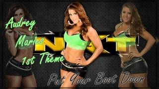 WWE NXT Divas: Audrey Marie 1st Theme - Put Your Boot Down + Download[ALL VERSIONS]