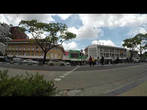 crowd cross road traffic bugis street singapore timelapse 2 gopro 13042018