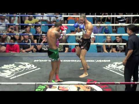 Çağan Atakan Arslan Avatar (Tiger Muay Thai) vs Junior (Sumalee Boxing Gym) 17/7/2013