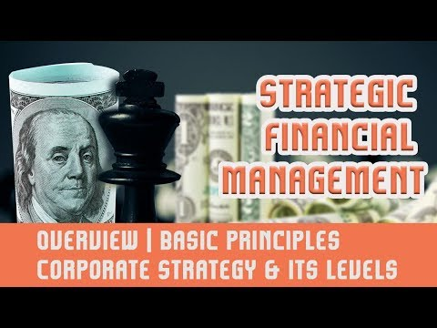 Strategic Financial Management [SFM] | Overview | Basic Principles | Corporate Strategy & Its Levels