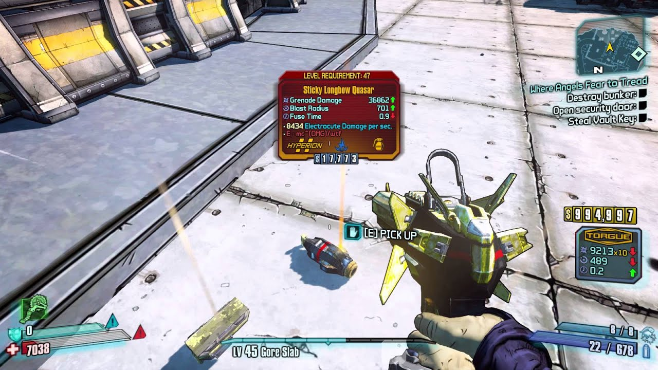 borderlands 2 quasar