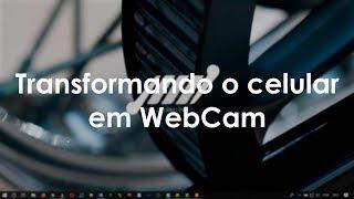 Como configurar o app Droidcam para usar o celular como Webcam