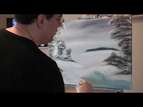 Painting with Bob Ross Videos – Ep3 Snowy Solitude