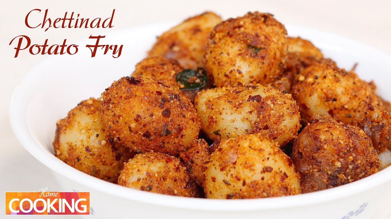 Chettinad potato fry veg youtube forumfinder Gallery