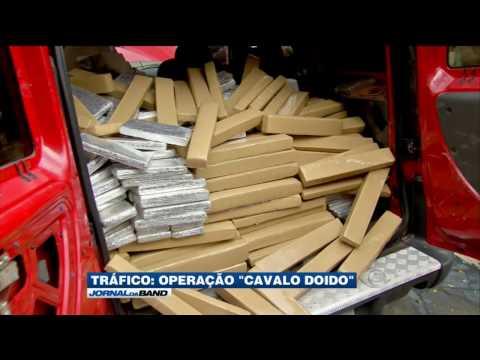 25 pessoas são presas em operação da PF contra o tráfico