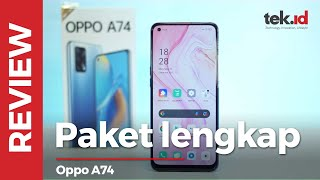 Review OPPO A74, tampil fashionable yang multifungsi