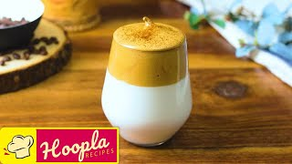 Dalgona Coffee Recipe | How to Make Whipped Coffee | Stay Home - Stay Safe with Hoopla Recipes