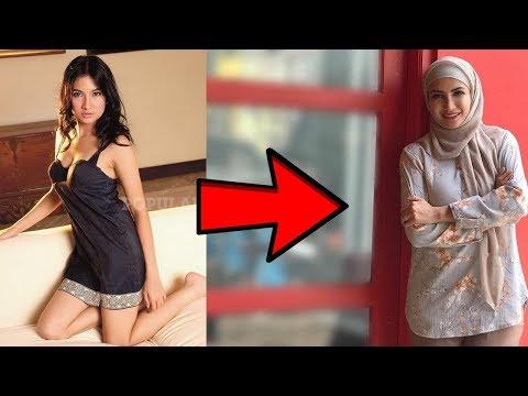 Hidayah Artis Mualaf Indonesia! Artis Masuk Islam saat Terkenal