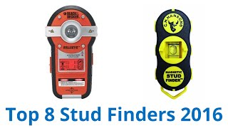 8 Best Stud Finders 2016(CLICK FOR WIKI ▻▻ https://wiki.ezvid.com/best-stud-finders?id=ytdesc Stud Finders Reviewed In This Wiki: Zircon e50 Zircon i65 Zircon MultiScanner i520 ..., 2016-01-08T11:37:58.000Z)