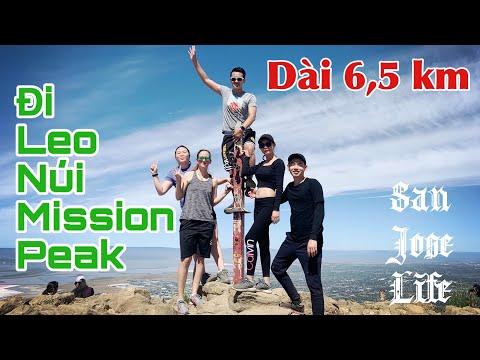Chinh Phục Núi Mission Peak-Cuộc Sống Mỹ-Hiking Mission Peak