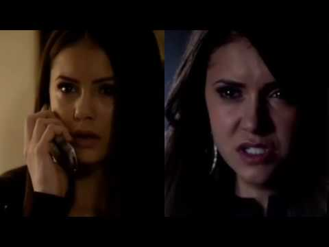 Damon & Elena  (feat. Katherine) ~ Two Black Cadillacs