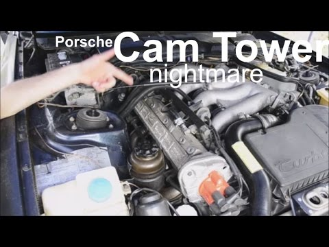 Porsche 944 951 Cam Tower Removal Hex Tool Broke Off In Bolt Inside Engine Part 1 Nightmare Youtube