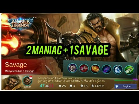 ROGER SAVAGE BUILD ROGER MOBILE LEGENDS YouTube