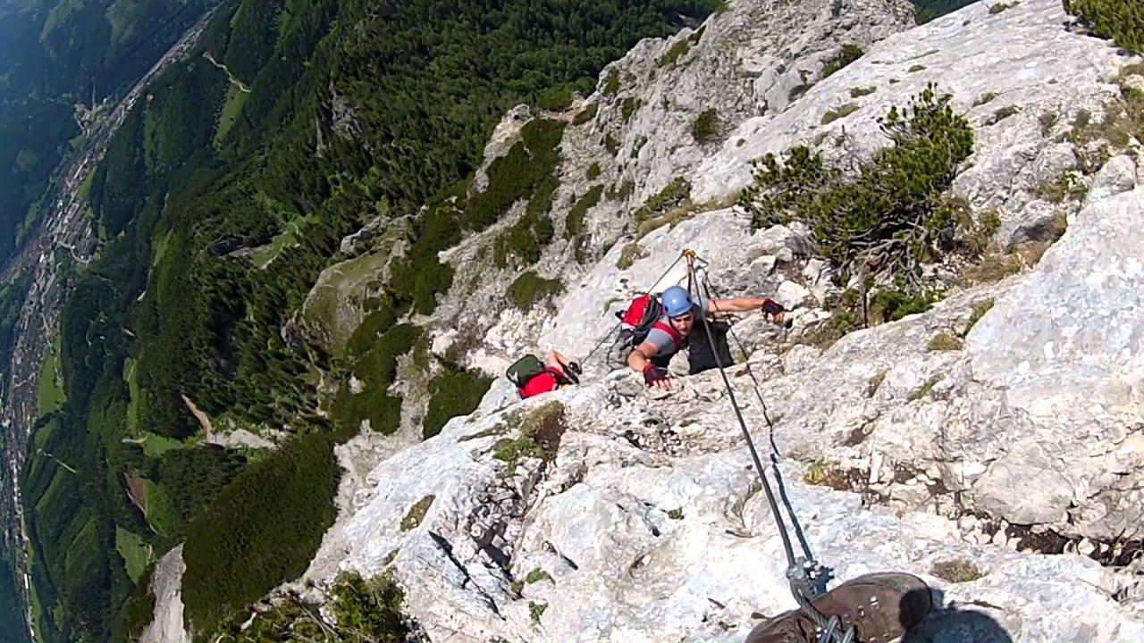 Eisenerzer Klettersteig : Eisenerzer klettersteig via ferrata ausztria youtube