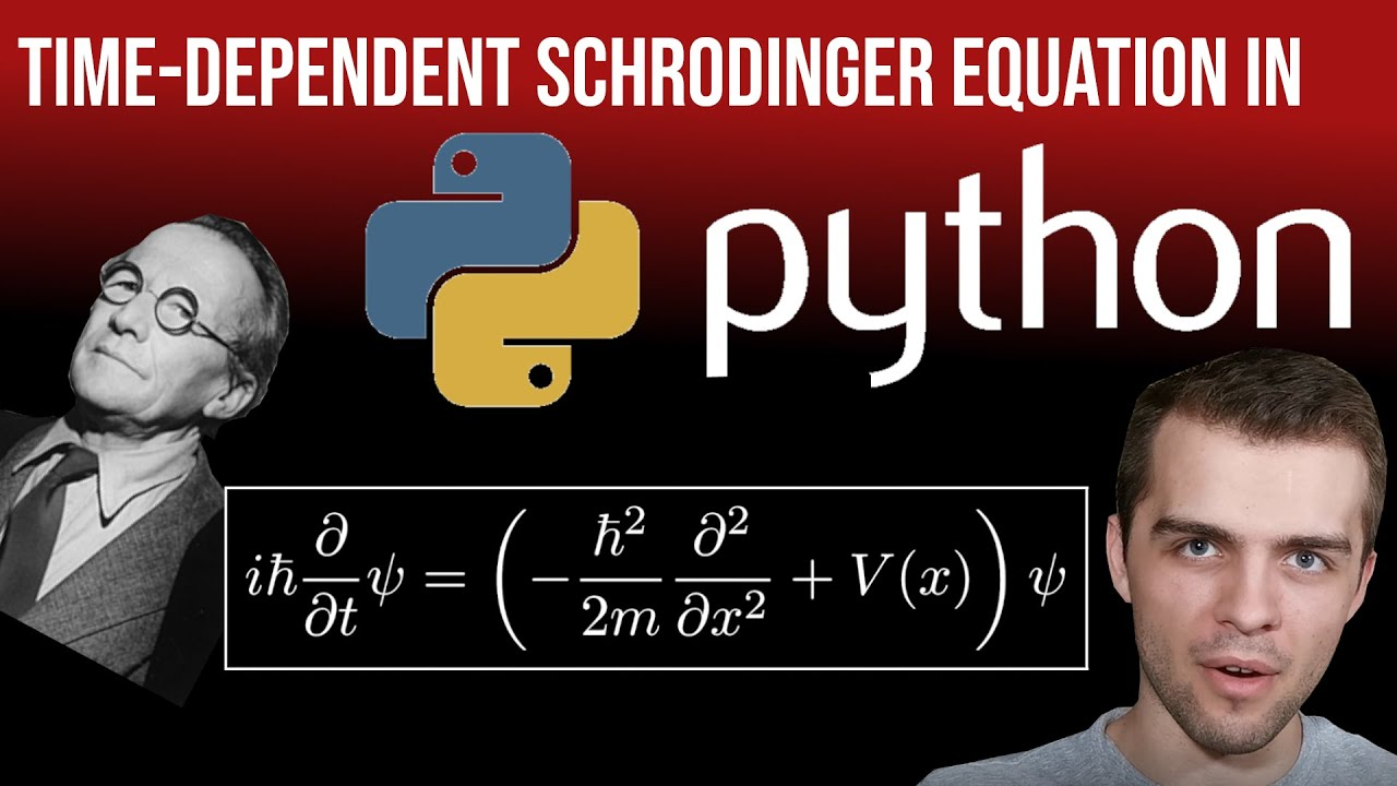 Time-Dependent Schrodinger Equation in Python: Two Different Techniques
