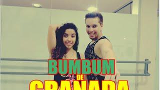 Bumbum Granada -MCs Zaac & Jerry - Coreografia (vai taca )