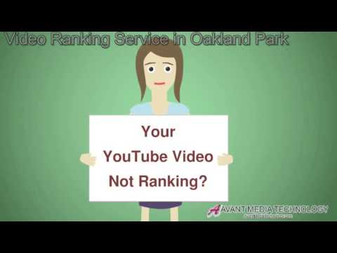 YouTube Video Ranking Service in Oakland Park FL (407) 848-1001