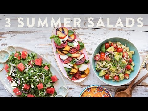 Herby, Juicy Watermelon, Tomato and Feta Salad