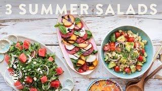 3 Easy Summer Salads!