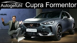 Cupra Formentor REVIEW Exterior Interior World Premiere production model new SUV  - Autogefühl