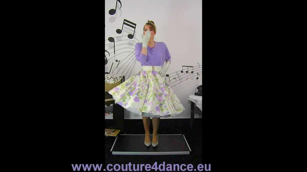 Tellerrock / Circleskirt Lilac+Petticoat Cinderella+Shirt Clara/Circleskirt