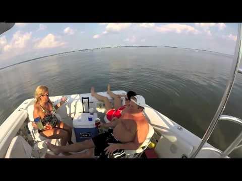Boating on Kent Island, MD