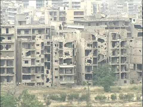 Battle Damaged Beirut | The Lebanon | Battle Damage | This Week | 1990s