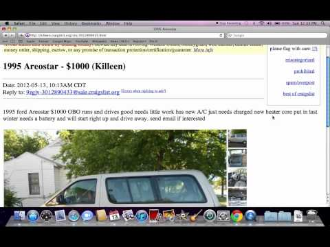 Craigslist Killeen Texas - Used Dodge, Ford and Chevy Trucks Under $5000 Available