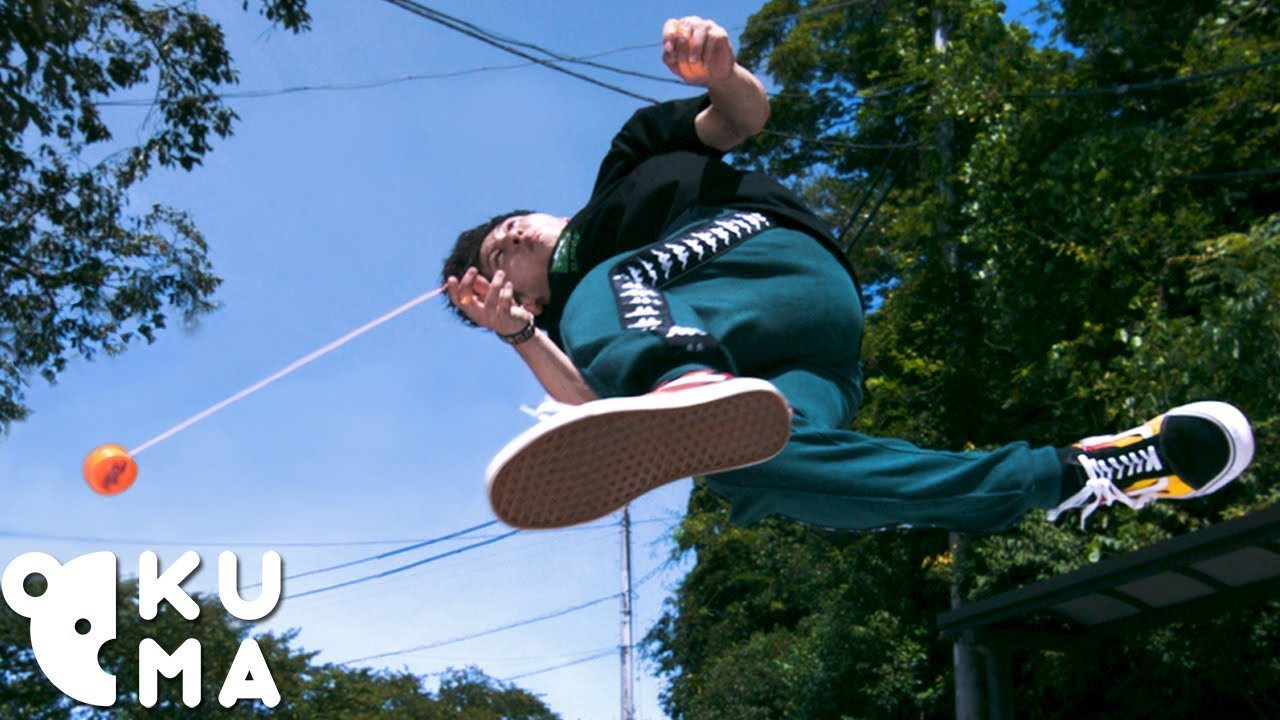 This Yoyo Ninja Does Acrobatic Flips While Doing Tricks