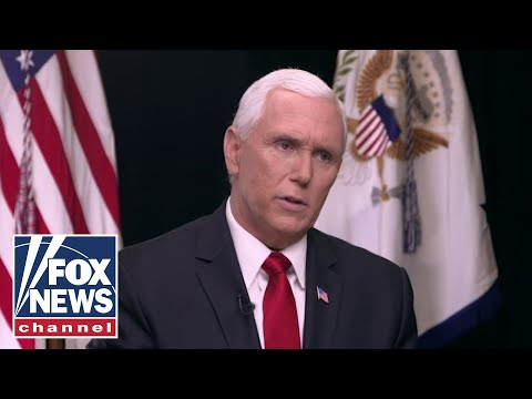 Pence hits back at critics in one-on-one with Hannity