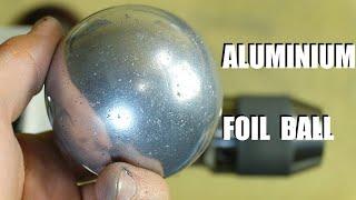 Palla con fogli di alluminio - l'idea di un giapponese - Polished Aluminum Foil Ball