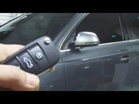 How To Enable Automatic Folding Mirrors In Audi Mmi 3g Doovi