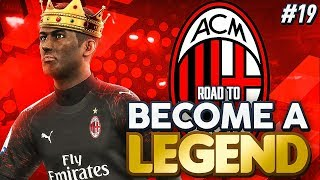 "ROAD TO BECOME A LEGEND! PES 2019 #19 ""PRINCE OF THE SAN SIRO!!!"""
