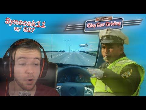 [60FPS] City Car Driving ► Let's Play Česky ► #01 ► Nevychovaní řidiči! ► synecek11