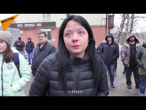 Kemerovo'daki yangının görgü tanığı, faciayı anlattı