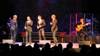 The Tenors performing Hallelujah with David Foster and Rita Wilson at the Greek Theatre
