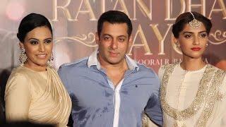 Gambar cover UNCUT - Prem Ratan Dhan Payo Trailer launch | Salman khan | Sooraj B | Sonam | Rajshri Production