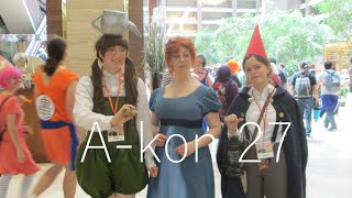 My first convention | A-kon 27