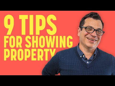Ep. 24: 9 Tips On How To Effectively Show Property
