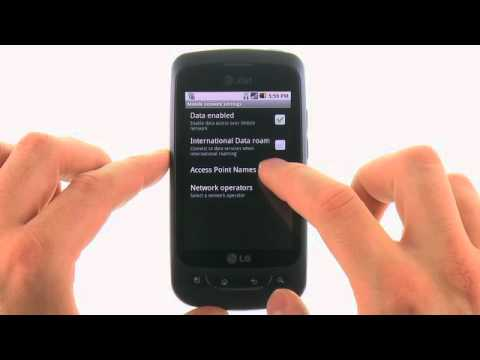 Access the Browser Settings for the LG Phoenix™: AT&T How To Video Series