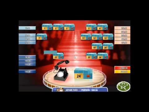 Il gioco dei pacchi affari tuoi adesso online su 888 - Gioco da tavolo affari tuoi ...