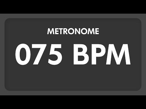 75 BPM  Metronome