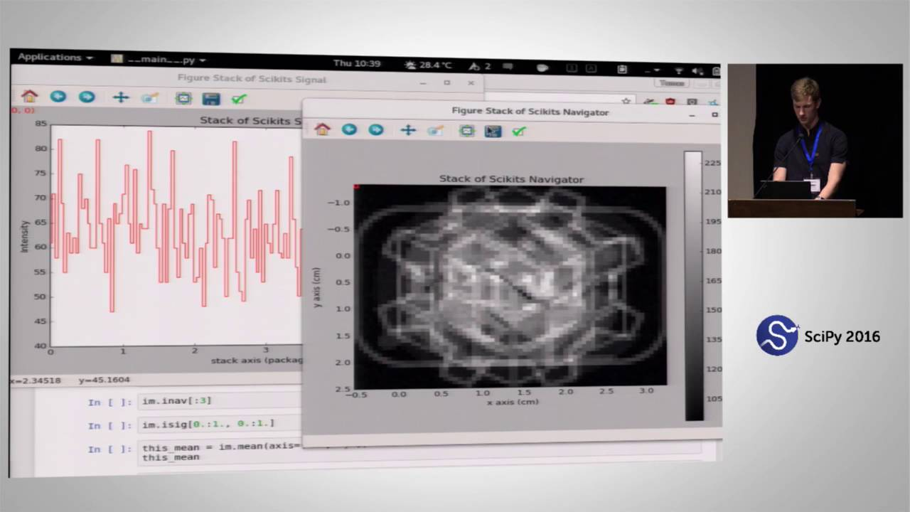 Image from HyperSpy: How to Easily Bend Multi-dimensional Data to your Analytical Will