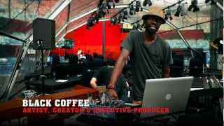 BLACK COFFEE - Africa Rising - Behind The Scenes