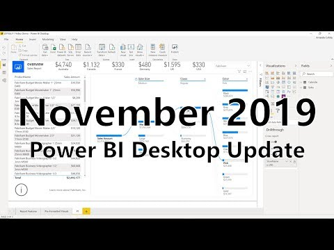 Power BI Desktop Update - November 2019