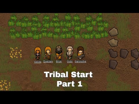 Rimworld Tribal Start With Nothing - Part 1 |