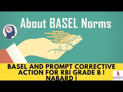 BASEL and Prompt Corrective Action For RBI Grade B   NABARD   Government Exams