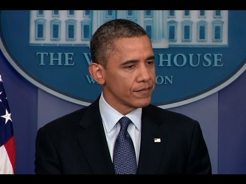 President Obama Holds a Press Conference on the Economy