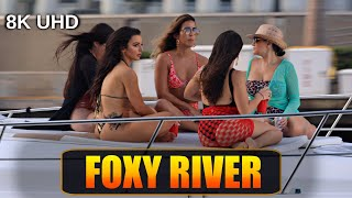 BOATS NEAR TO CRASH &amp WORST TWERKING EVER  MIAMI RIVER  Boat Zone