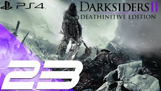 Darksiders II Deathinitive Edition PS4 - Walkthrough Part 23 - The Scribe Boss [1080p 60fps]